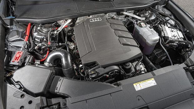 Audi A6 45 TFSI Quattro Sport, Motorraum