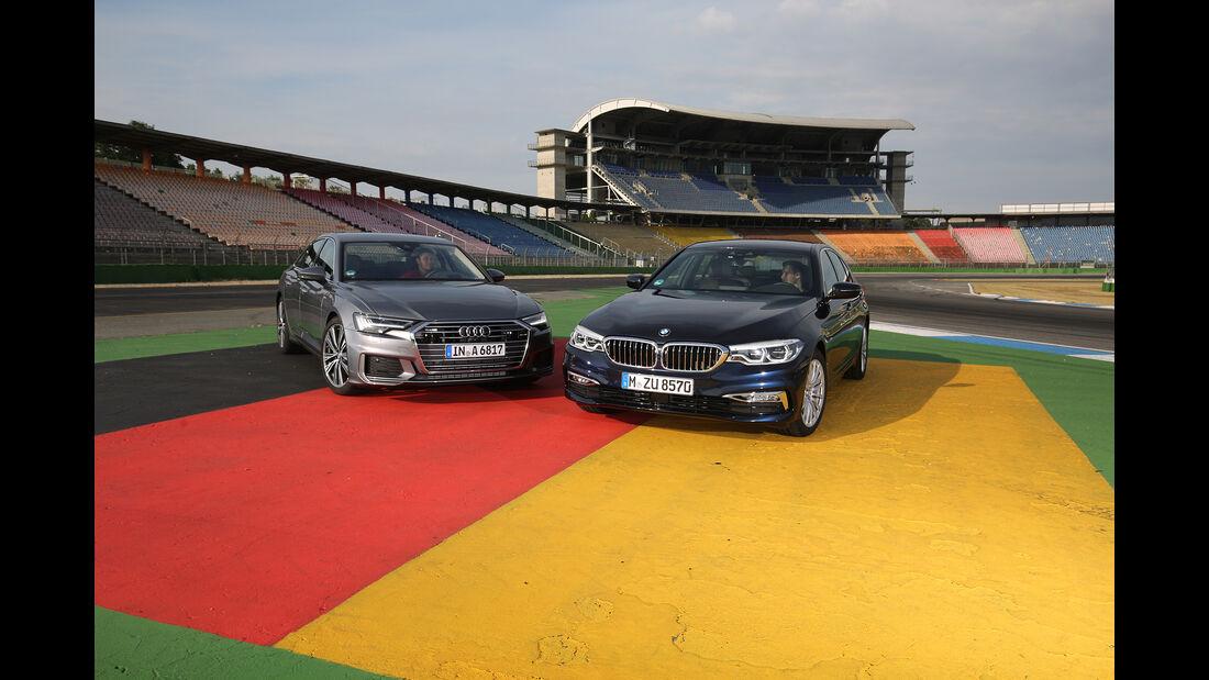 Audi A6 50 TDI Quattro, BMW 530d xDrive, Exterieur