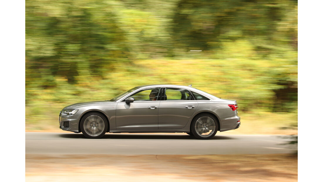 Audi A6 50 TDI Quattro, Exterieur