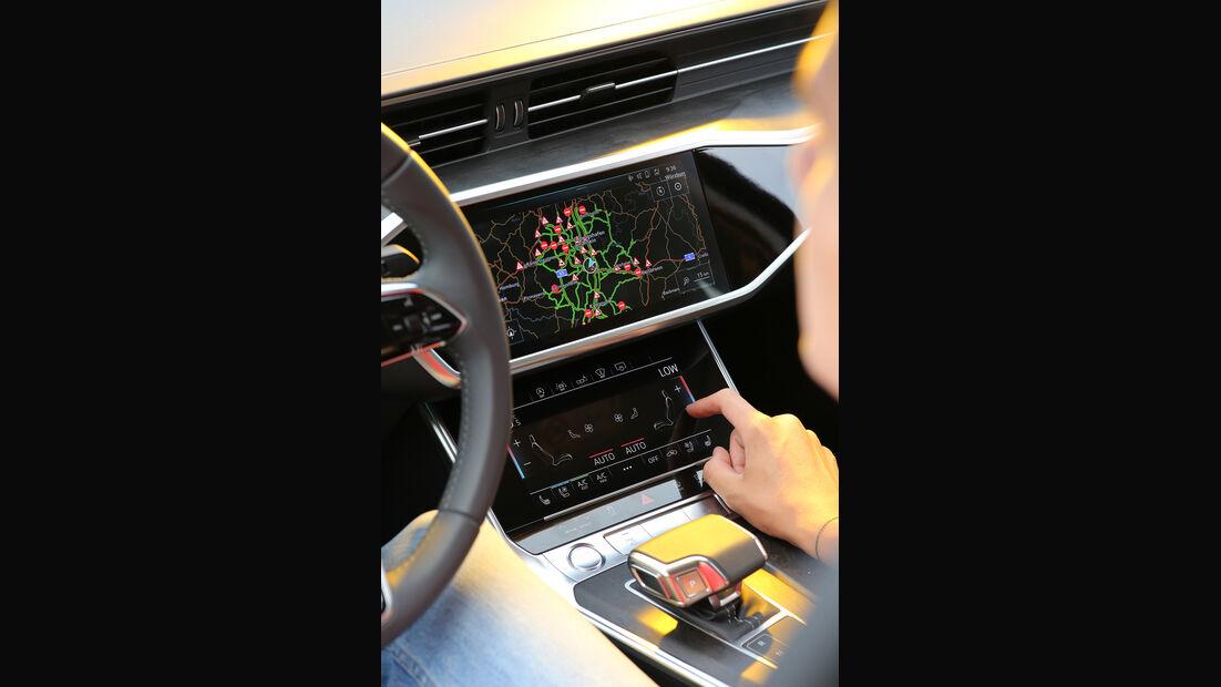 Audi A6 50 TDI Quattro, Interieur