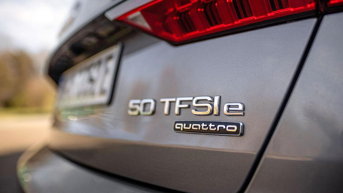 Audi A6 50 TFSI e Quattro, Mercedes E 300 e 4Matic Vergleichstest, ams0121