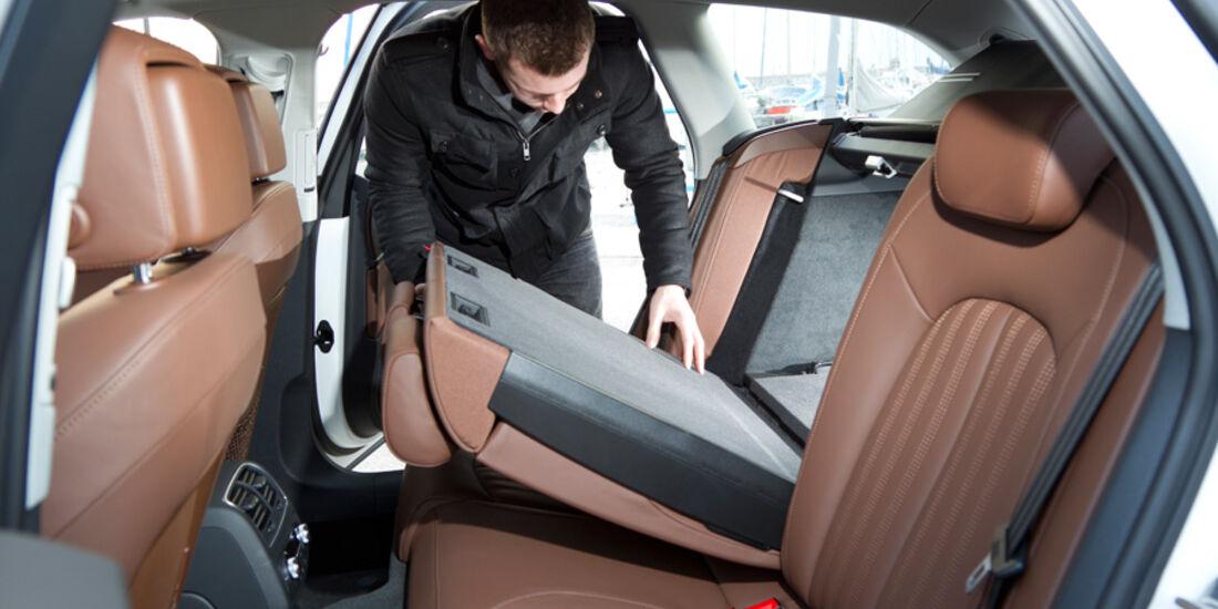 Audi A6 A6 Avant 2.0 TFSi, Rücksitzbank