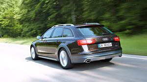 Audi A6 Allroad 3.0 TDI, Heckansicht