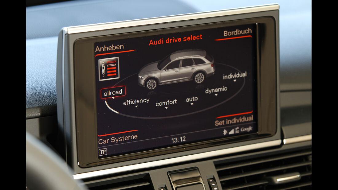 Audi A6 Allroad, Bildschirm