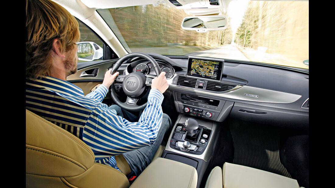 Audi A6 Allroad, Cockpit