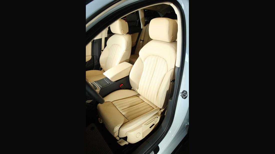 Audi A6 Allroad, Fahrersitz, Ledersitz