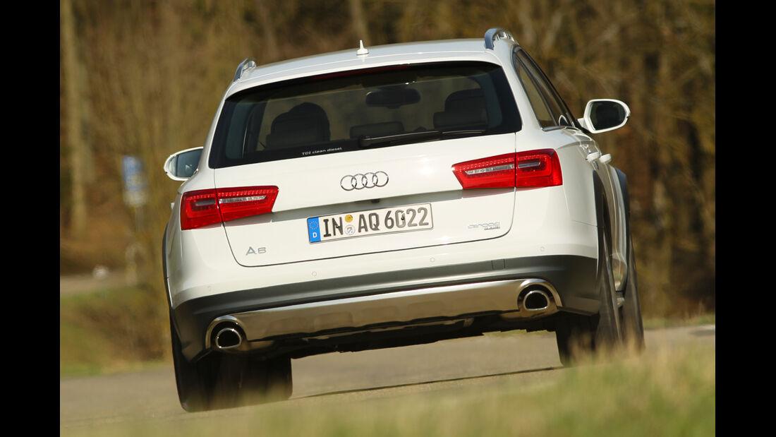 Audi A6 Allroad, Heck