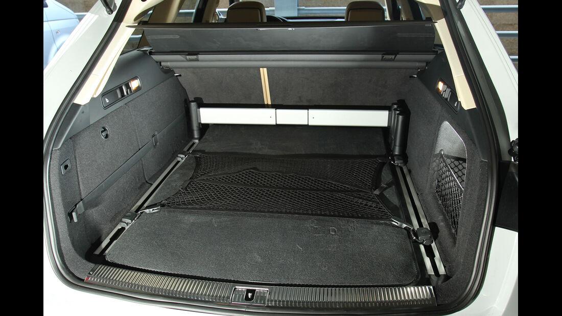 Audi A6 Allroad, Kofferraum, Ladefläche