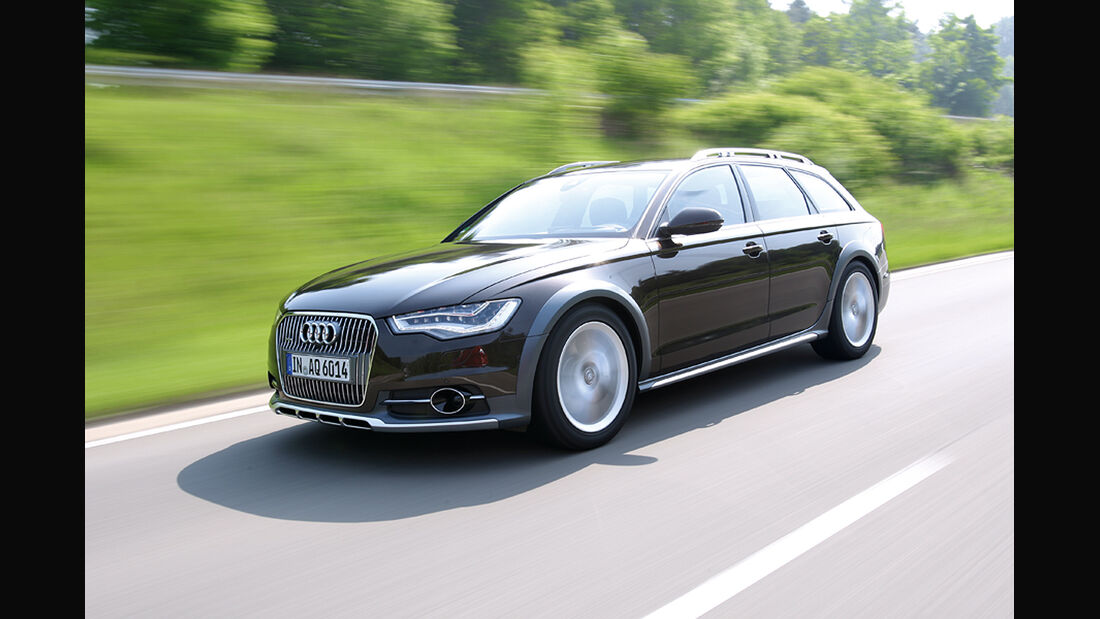 Audi A6 Allroad Quattro 3.0 TDI, Front