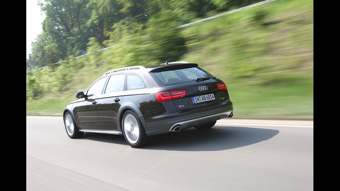 Audi A6 Allroad Quattro 3.0 TDI, Heck