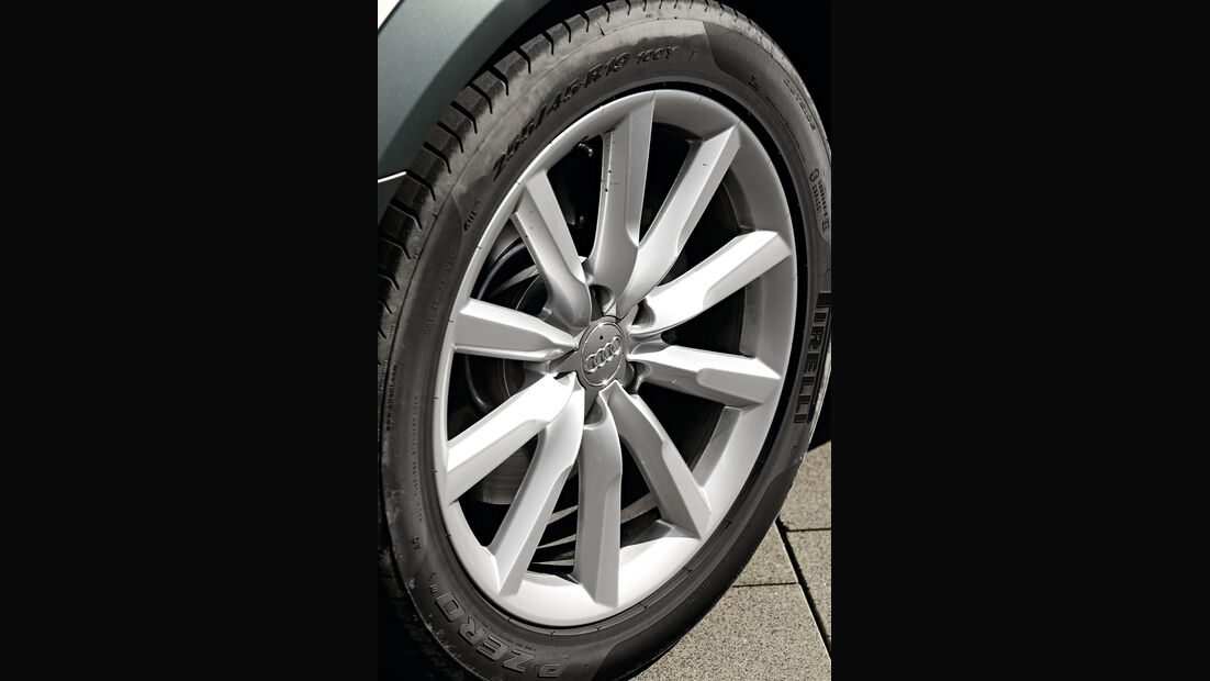 Audi A6 Allroad, Rad, Felge