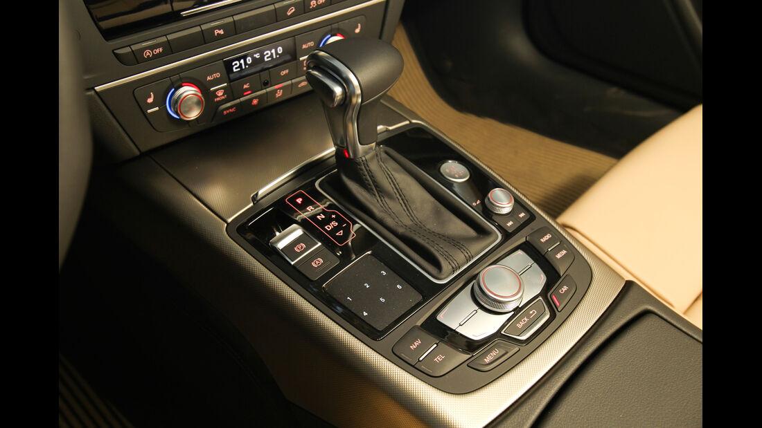 Audi A6 Allroad, Schalthebel, Schaltknauf