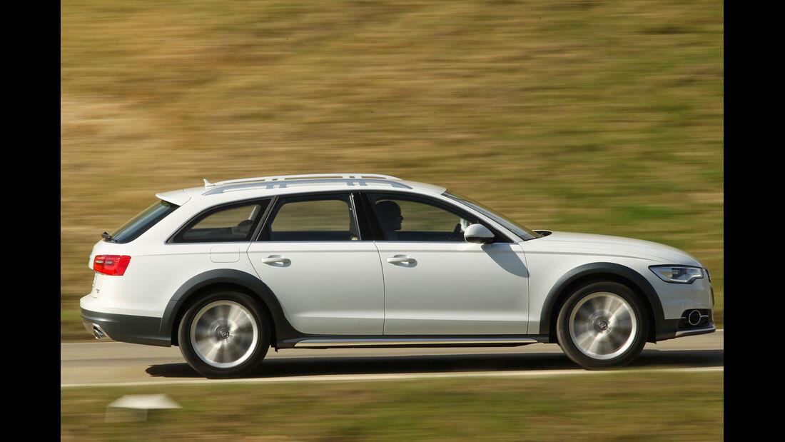 Audi A6 Allroad, Seitenansicht