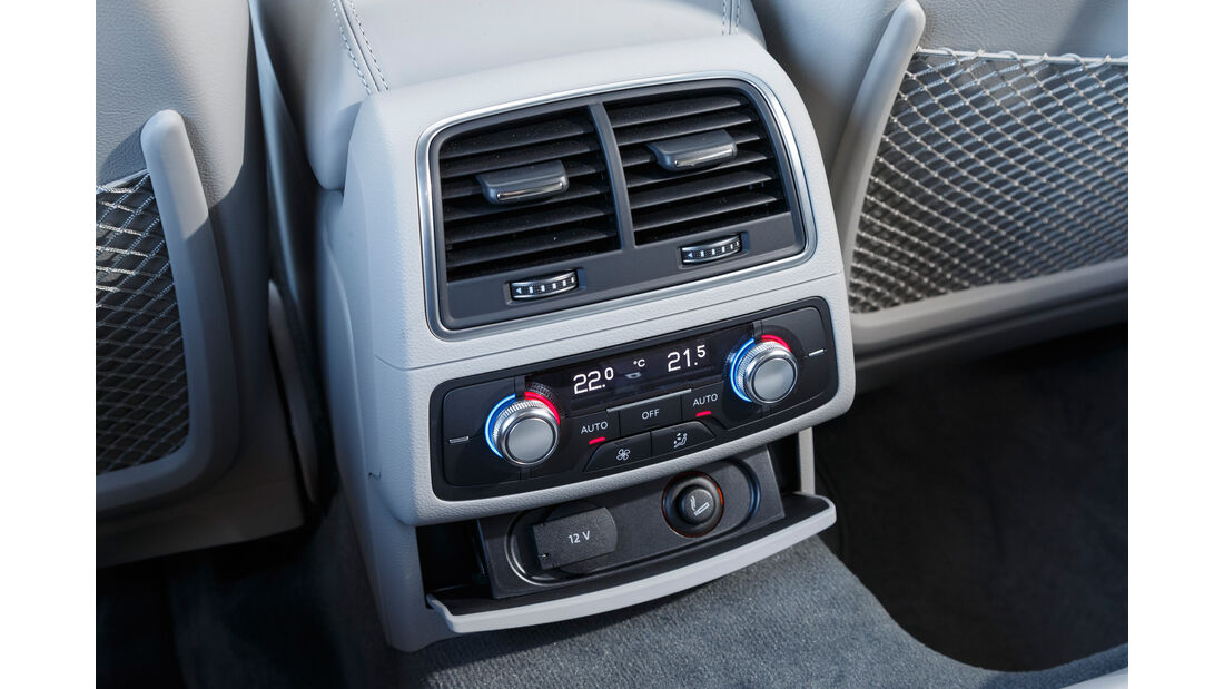 Audi A6 Avant 2.0 TDI, Belüfter