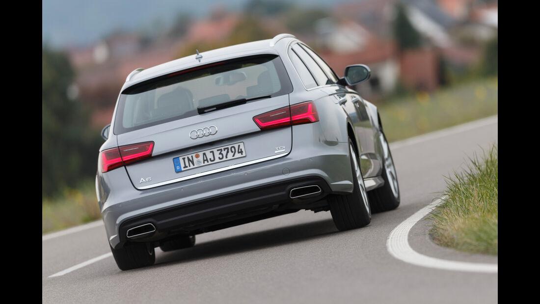 Audi A6 Avant 2.0 TDI, Heckansicht