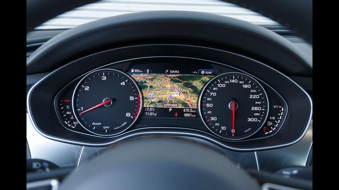 Audi A6 Avant 2.0 TDI, Rundinstrumente