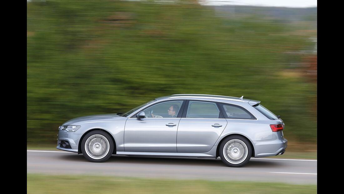 Audi A6 Avant 2.0 TDI, Seitenansicht