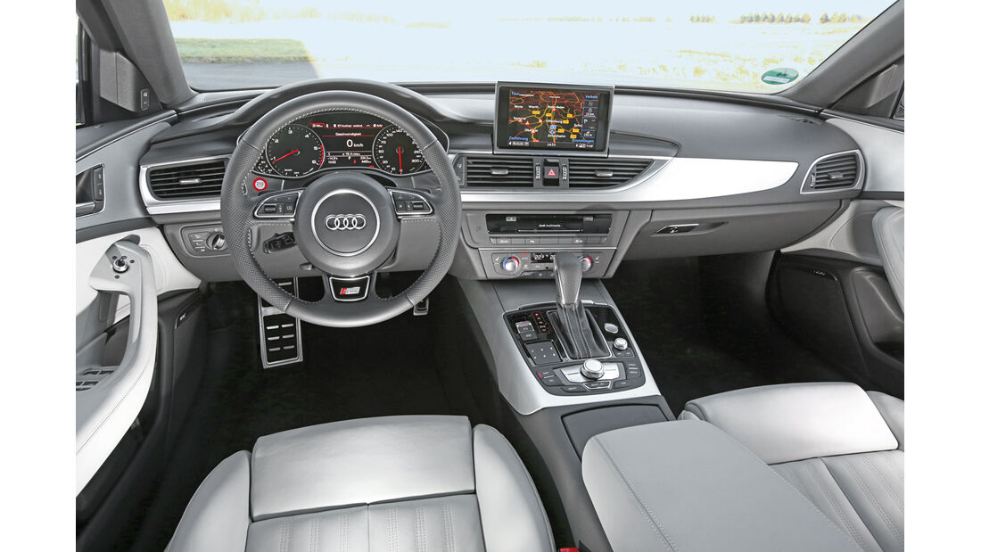 Audi A6 Avant 2.0 TDI Ultra, Cockpit