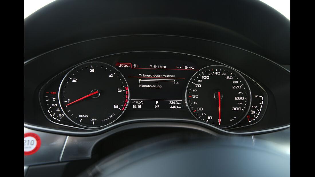 Audi A6 Avant 2.0 TDI Ultra, Rundinstrumente