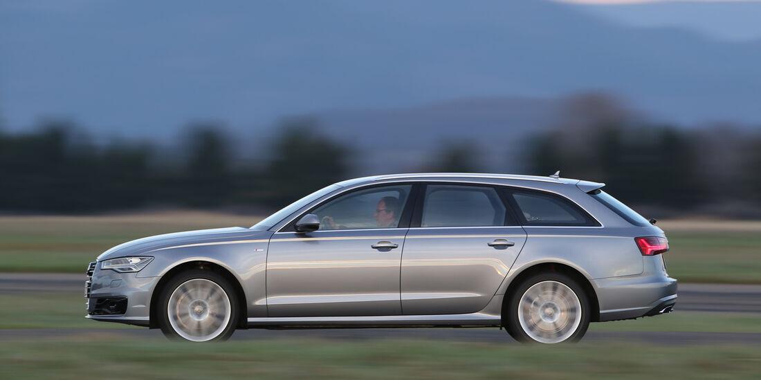 Audi A6 Avant 2.0 TDI Ultra, Seitenansicht