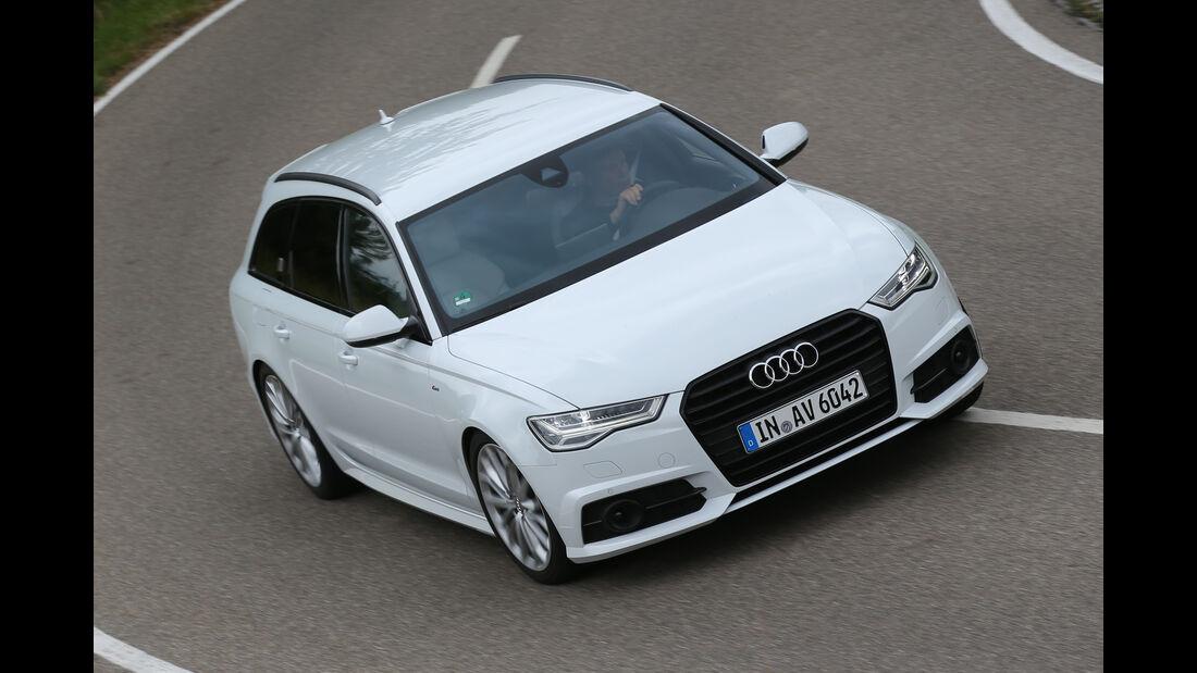Audi A6 Avant 2.0 TFSI, Draufsicht
