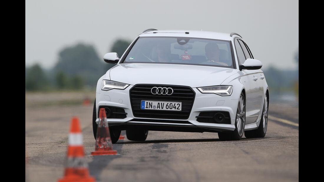 Audi A6 Avant 2.0 TFSI, Frontansicht