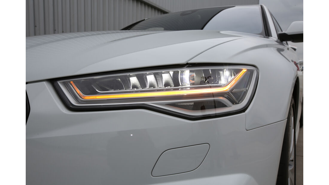 Audi A6 Avant 2.0 TFSI, Frontscheinwerfer