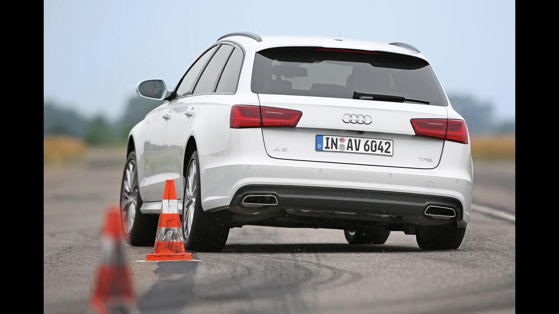 Audi A6 Avant 2.0 TFSI, Heckansicht