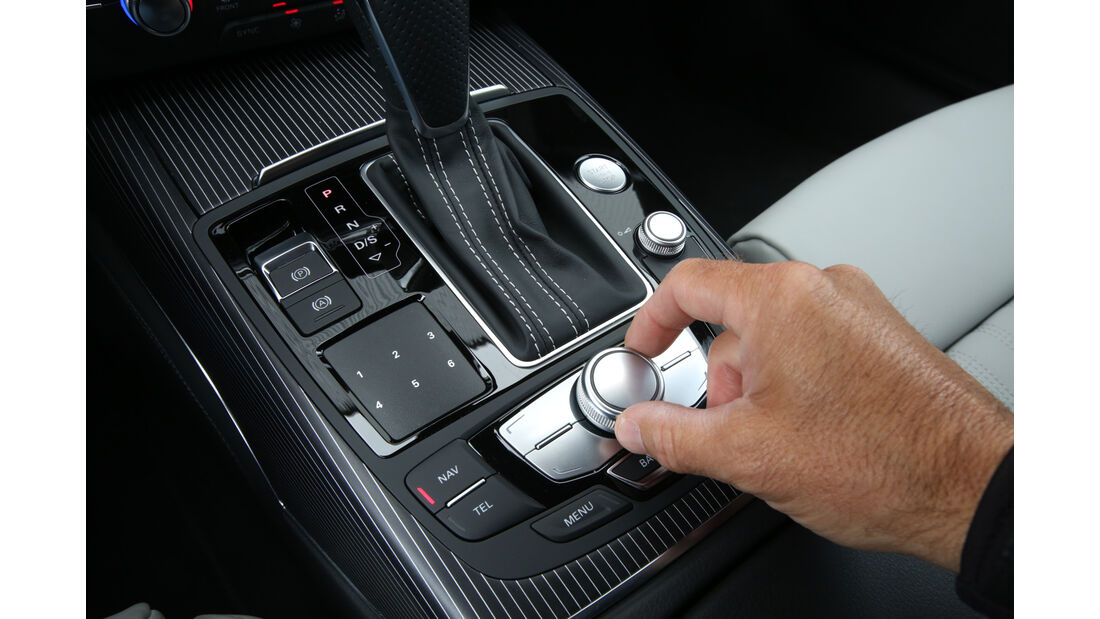 Audi A6 Avant 2.0 TFSI, Mittelkonsole