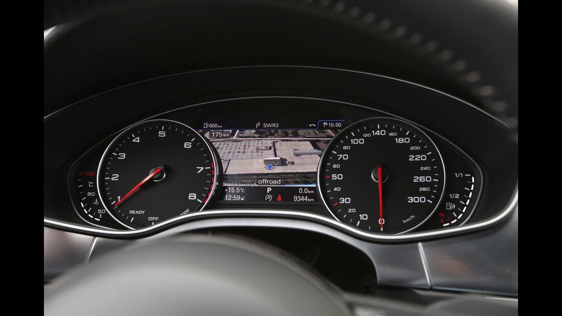 Audi A6 Avant 2.0 TFSI, Rundinstrumente