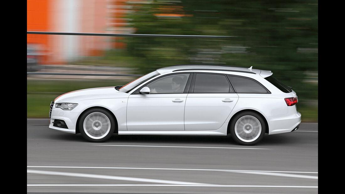 Audi A6 Avant 2.0 TFSI, Seitenansicht
