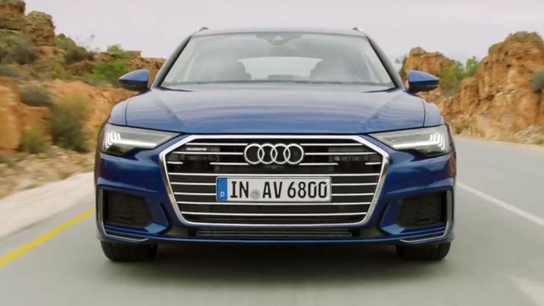 Audi A6 Avant 2018 Video Teaser