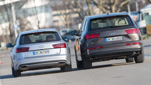Audi A6 Avant 3.0 TDI Quattro, Audi Q7 3.0 TDI Quattro