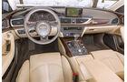 Audi A6 Avant 3.0 TDI Quattro, Cockpit, Lenkrad