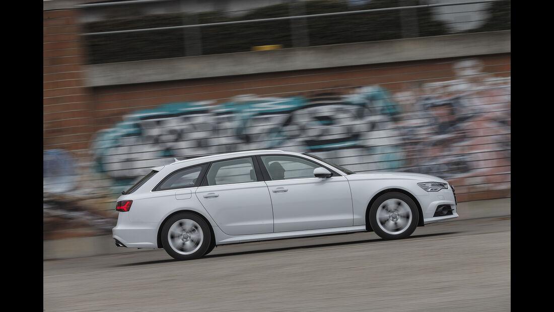 Audi A6 Avant 3.0 TDI Quattro, Exterieur Seite