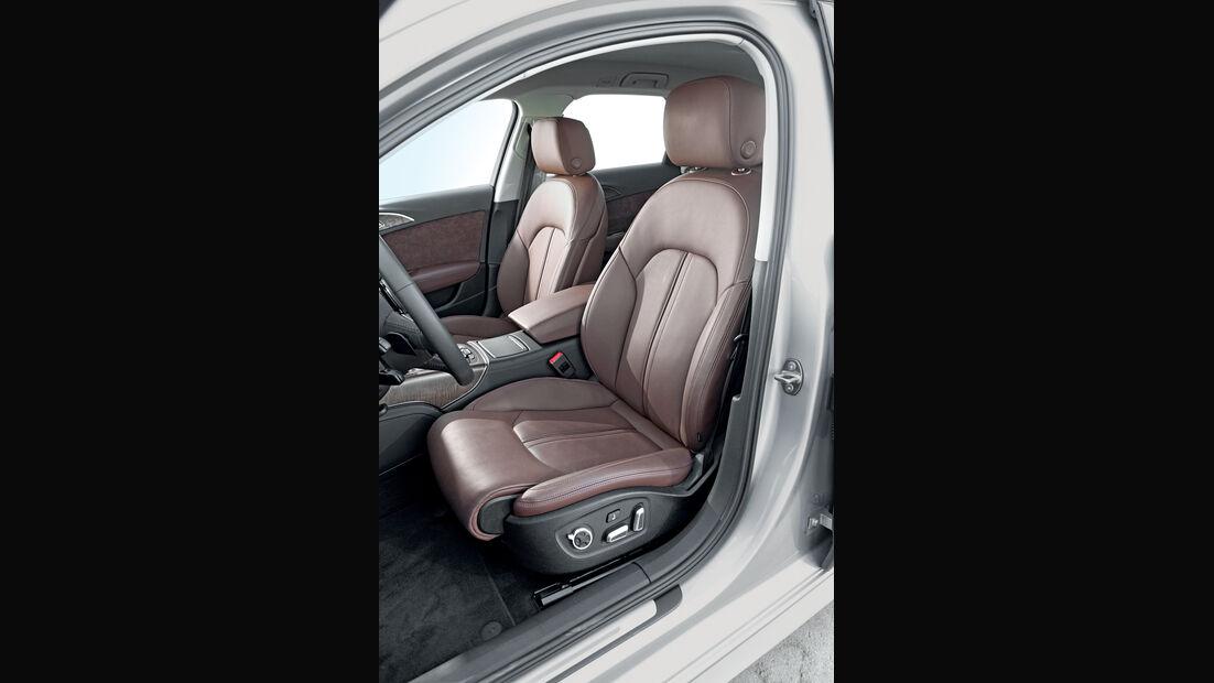 Audi A6 Avant 3.0 TDI Quattro, Fahrersitz