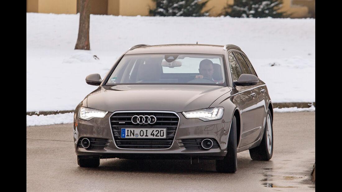 Audi A6 Avant 3.0 TDI Quattro, Frontansicht