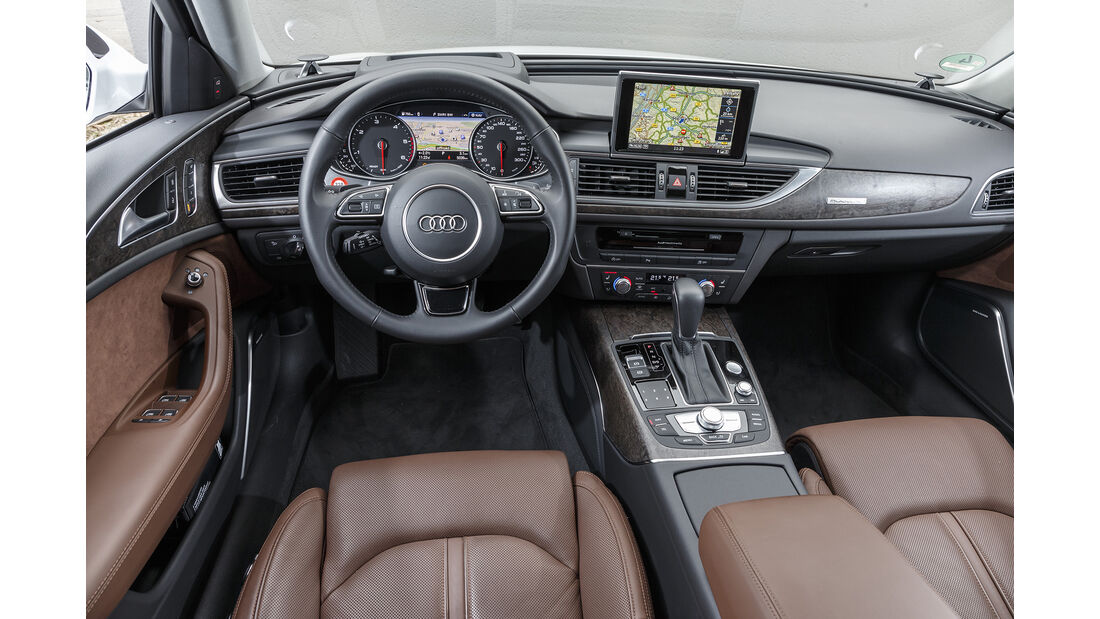 Audi A6 Avant 3.0 TDI Quattro, Interieur