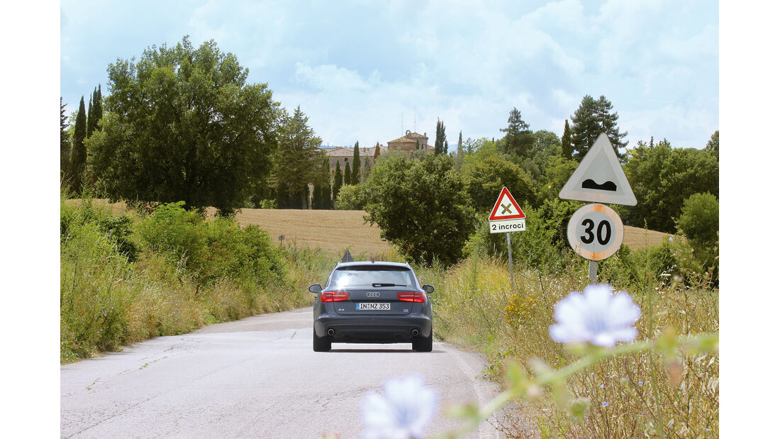 Audi A6 Avant 3.0 TDI Quattro, Italien