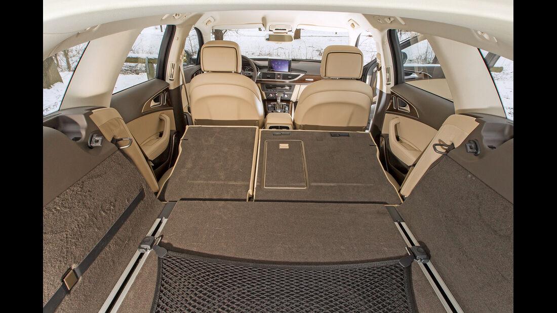 Audi A6 Avant 3.0 TDI Quattro, Kofferraum, Ladefläche