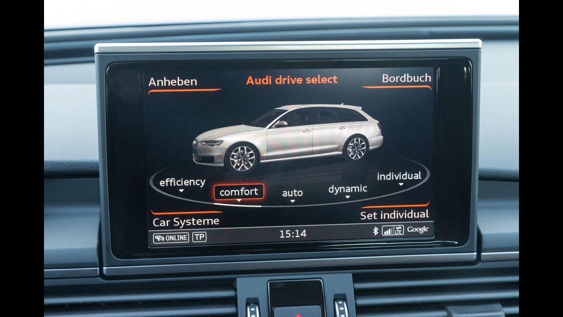 Audi A6 Avant 3.0 TDI Quattro, Monitor