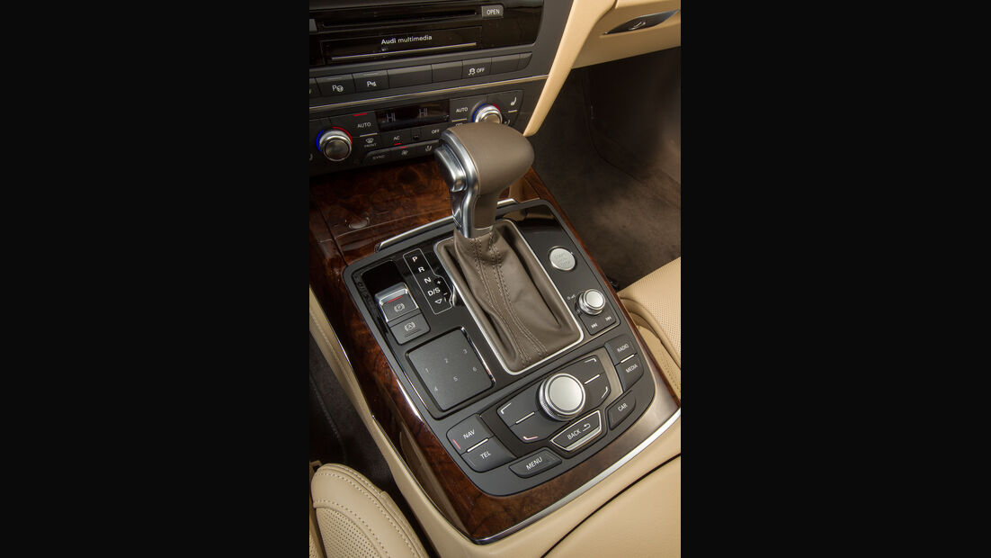 Audi A6 Avant 3.0 TDI Quattro, Schalthebel, Schaltknauf