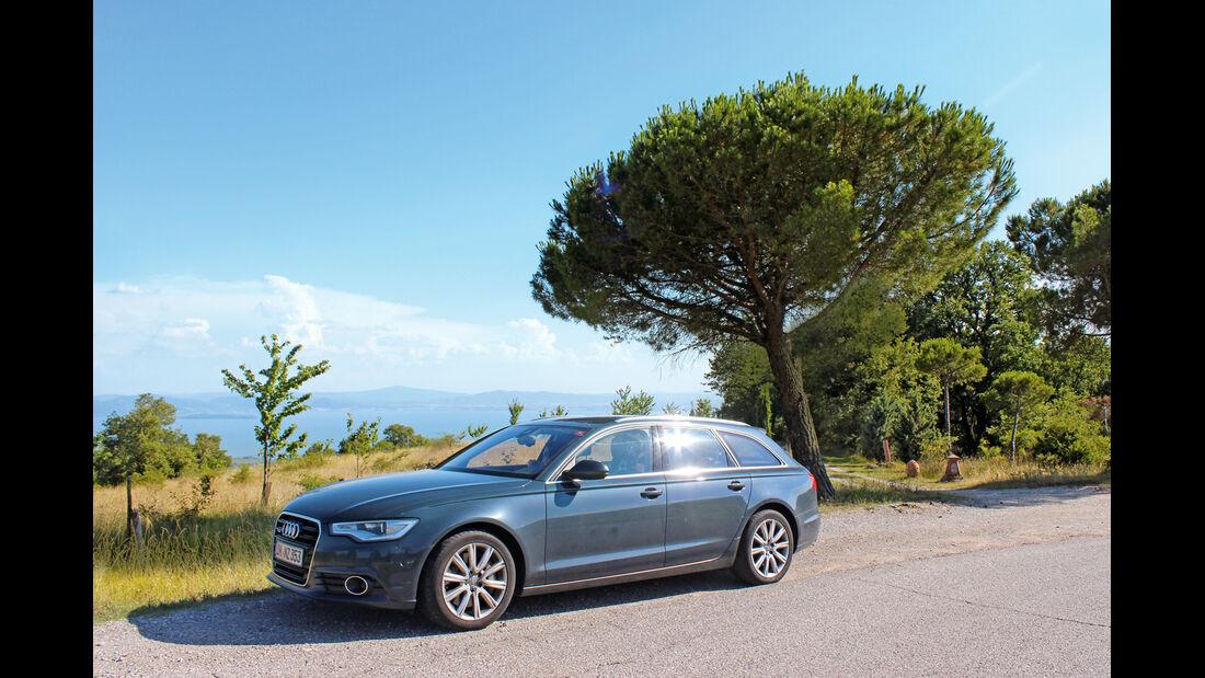 Audi A6 Avant 3.0 TDI Quattro, Seitenansicht