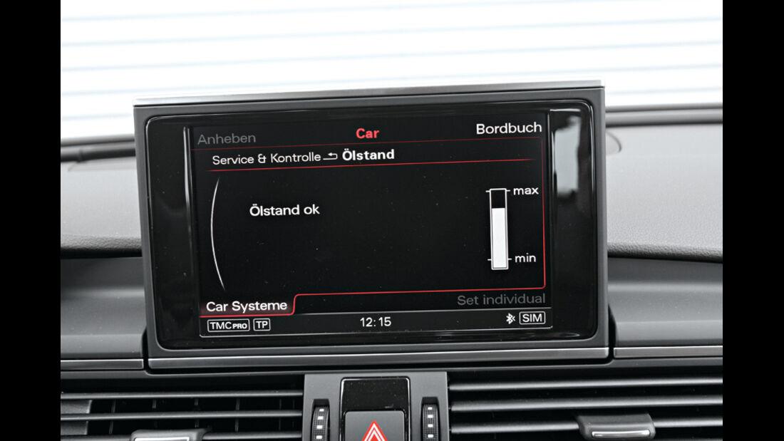 Audi A6 Avant 3.0 TDi, Display