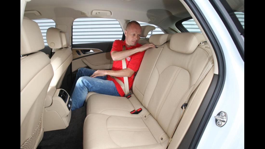 Audi A6 Avant, 3.0 TDi, Fond
