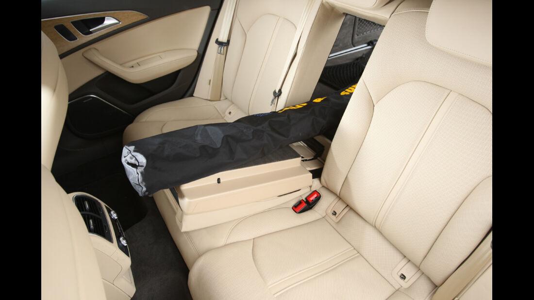 Audi A6 Avant, 3.0 TDi, Fond, Durchladen