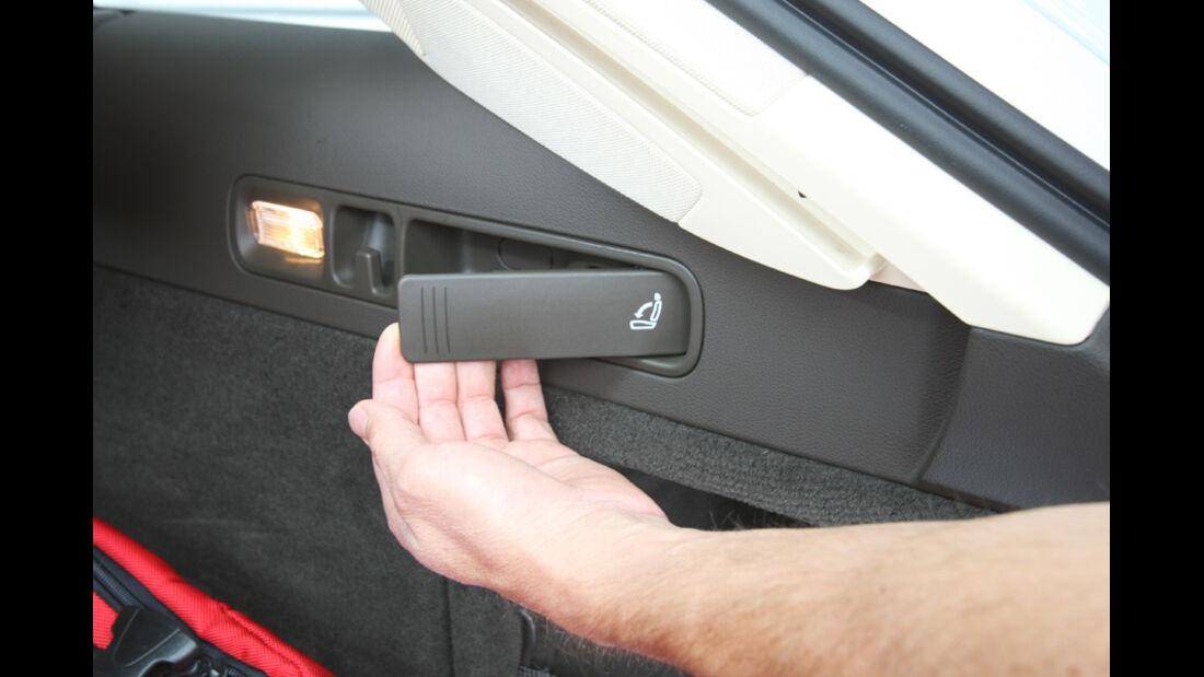 Audi A6 Avant, 3.0 TDi, Hebel, Rückbank