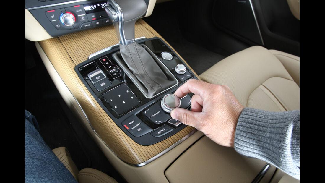 Audi A6 Avant 3.0 TDi, Mittelkonsole