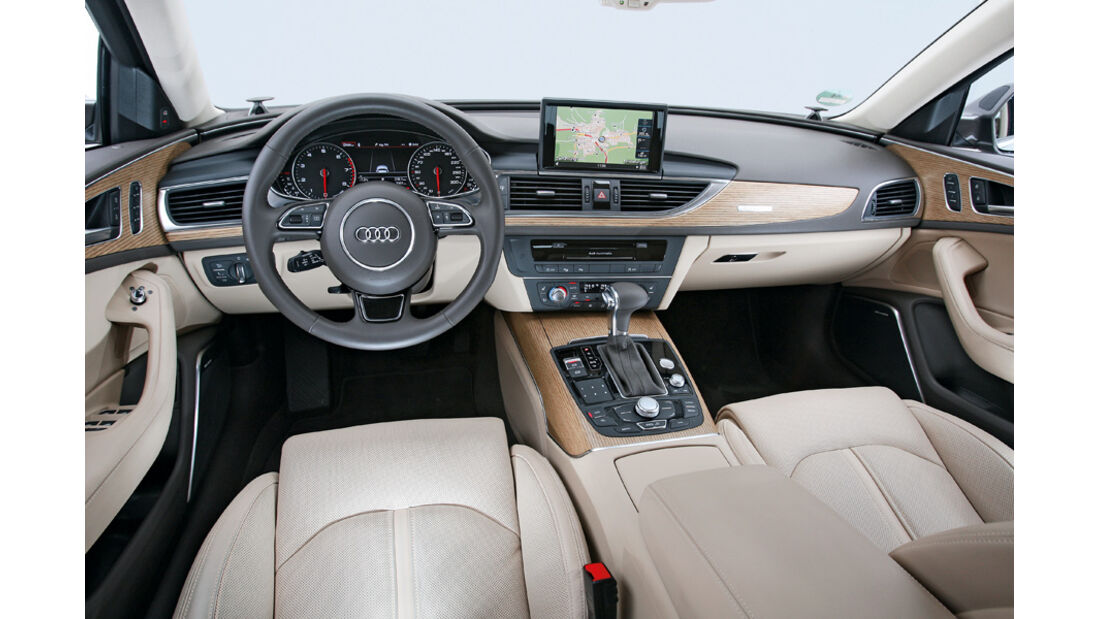 Audi A6 Avant 3.0 TFSI, Innenraum