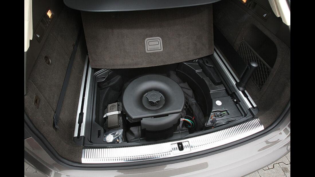 Audi A6 Avant 3.0 TFSI, Reifenreparatur-Kit